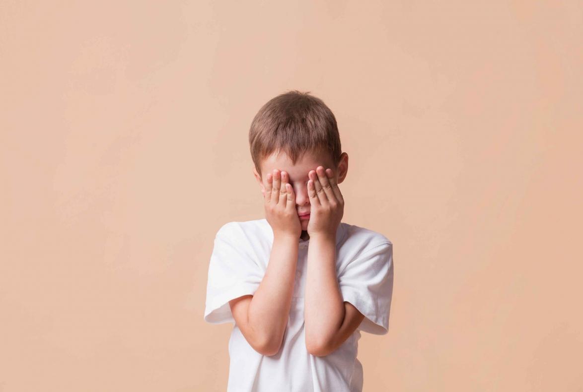 Definición de tristeza para niños